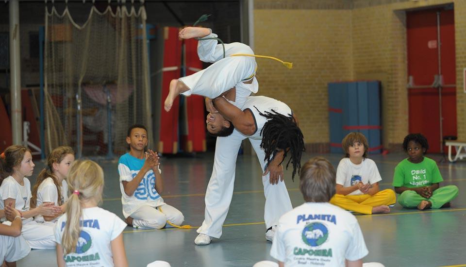 Planeta Capoeira Trining kids