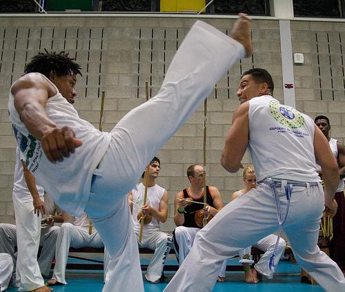 Planeta Capoeira Doda in actie