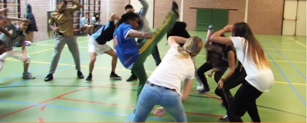 Workshop Capoeira Stedelijk Dalton Lyceum Dordrecht